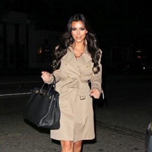 Look le trench des stars